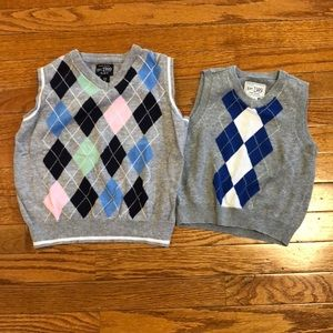 2 children's place vests size 4 and 18-24 month